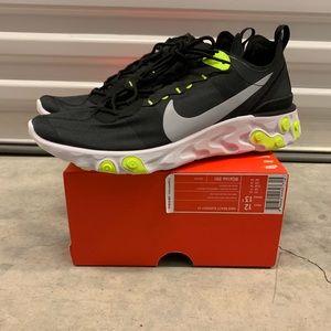 """Nike React Element 55 """"Black Volt"""""""